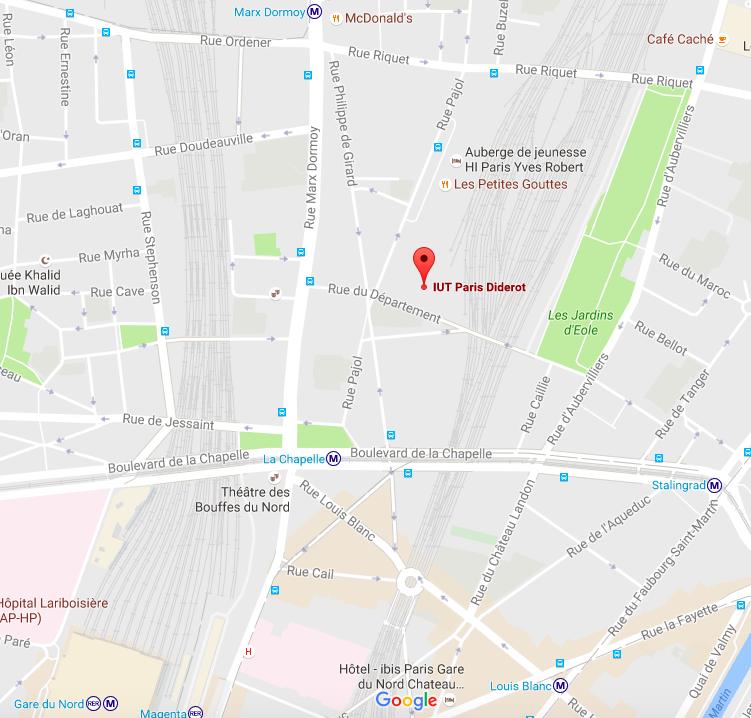 Gard Du Nord Paris Map.39e Congres De L Apliut Sciencesconf Org